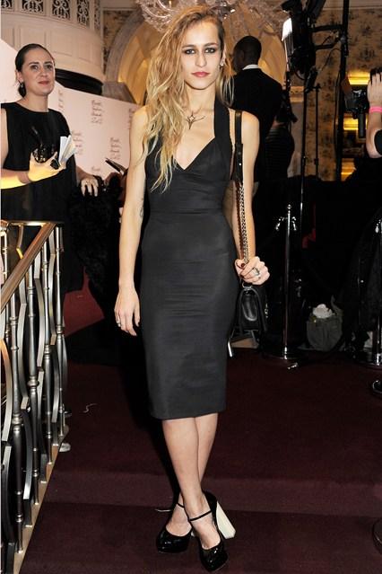 Alice Dellal - British Fashion Awards 2012