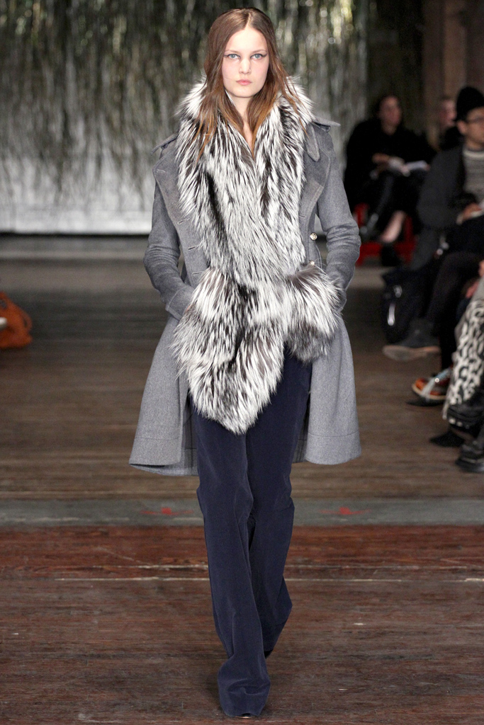 Altuzarra - flared trousers fro Fall / Winter 2012-2013, via style.com