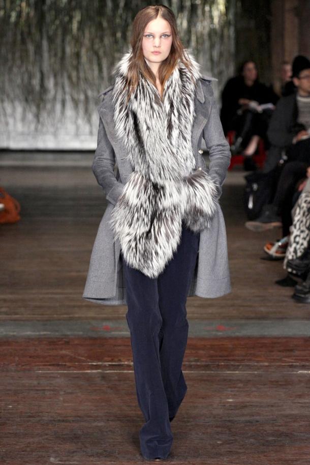 Altuzarra - flared trousers fro Fall / Winter 2012-2013, via style.com
