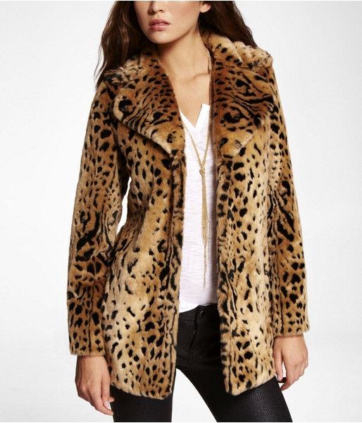 animal print coat1 Coat Styles For Winter 2013! What To Wear?
