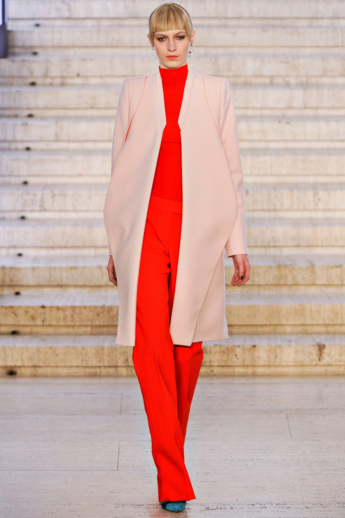 Anotnio Berardi - Flared large trousers Fall / Winter 2012-2013, via style.com
