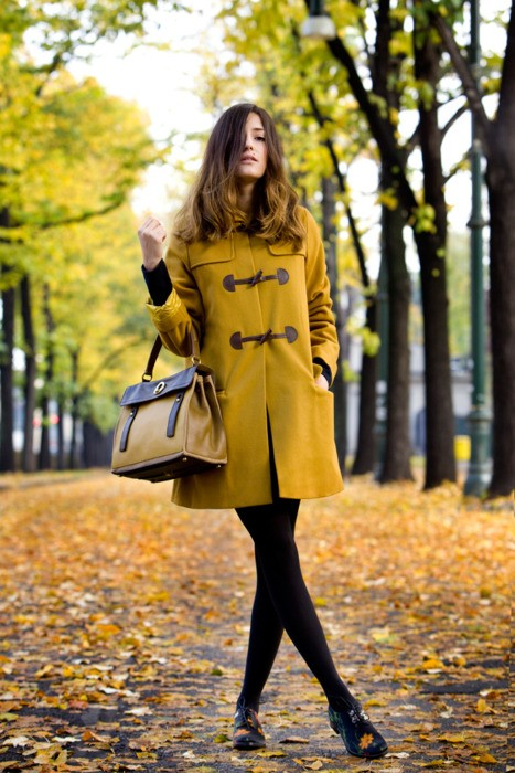 autumn coat look Coat Styles For Winter 2013! What To Wear?