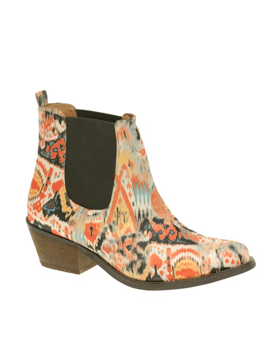Aztec Ankle Boots from Asos