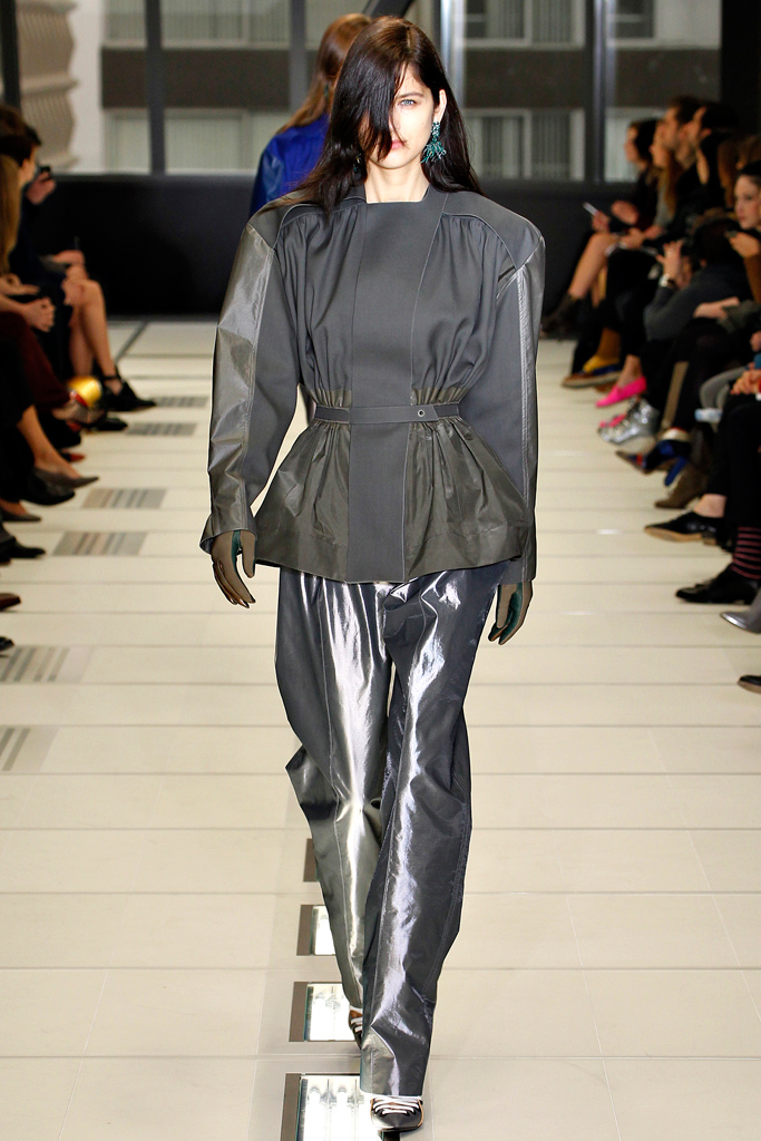 Balenciaga -  large trousers Fall / Winter 2012-2013, via style.com