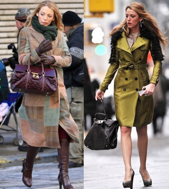 blake lively coat looks Coat Styles For Winter 2013! What To Wear?