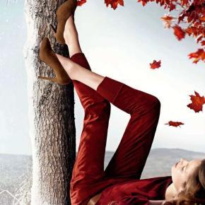 Fashion Crush! Red Bag & ParkaCoat!