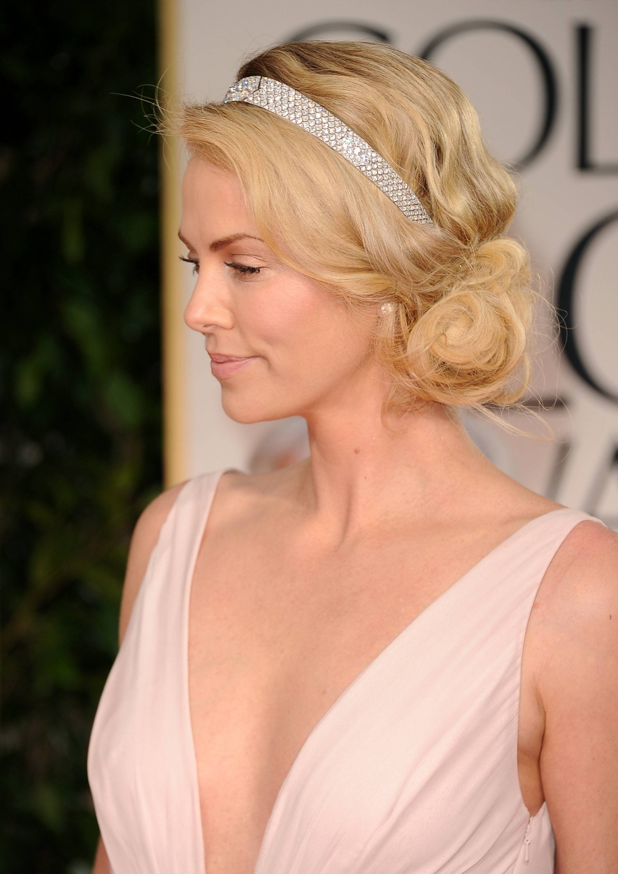 Charlize Theron headpiece