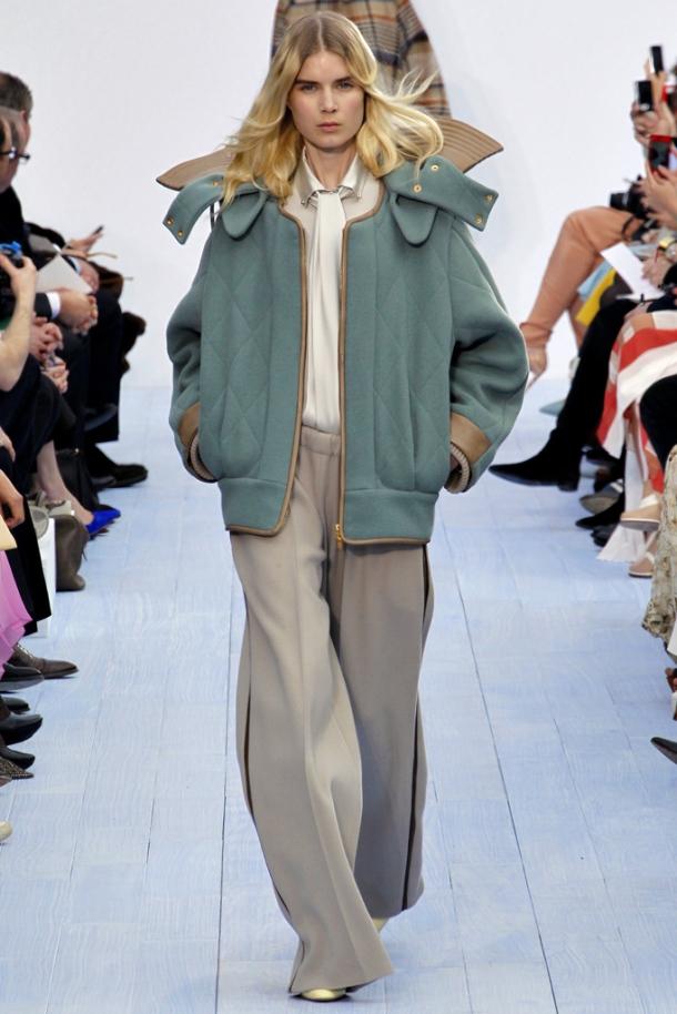 Chloe -  large trousers Fall / Winter 2012-2013, via style.com