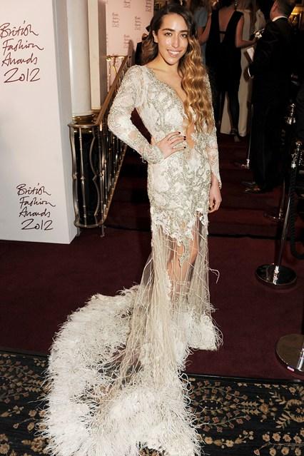 Delilah - British Fashion Awards 2012