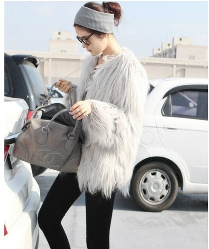 faux fur coat Coat Styles For Winter 2013! What To Wear?