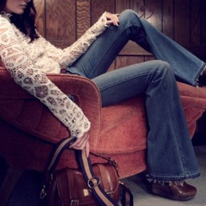 Are Flared Jeans & Trousers Back In Style? How To Wear Bell Bottoms & Style This '70's Trend?