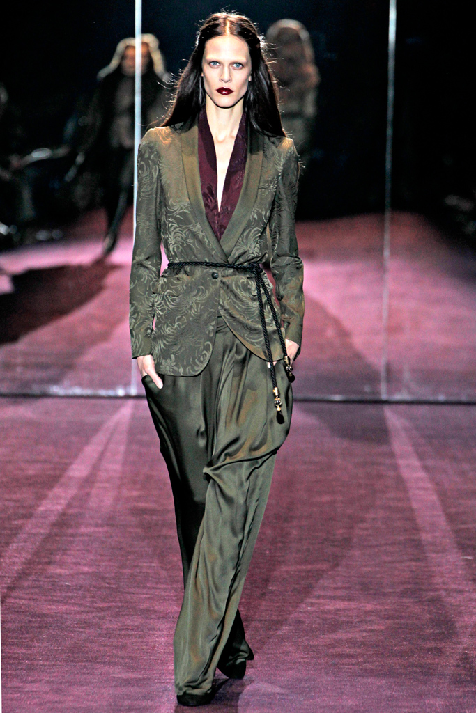 Gucci -  large trousers Fall / Winter 2012-2013, via style.com