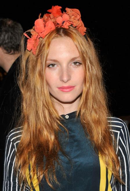 Josephine de la Baume flower headband