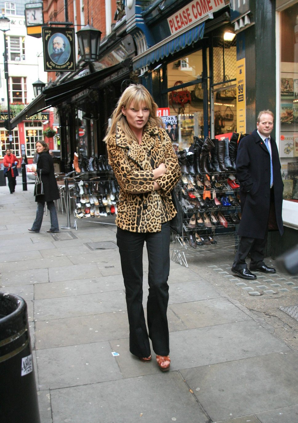 kate moss leopard print coat Coat Styles For Winter 2013! What To Wear?