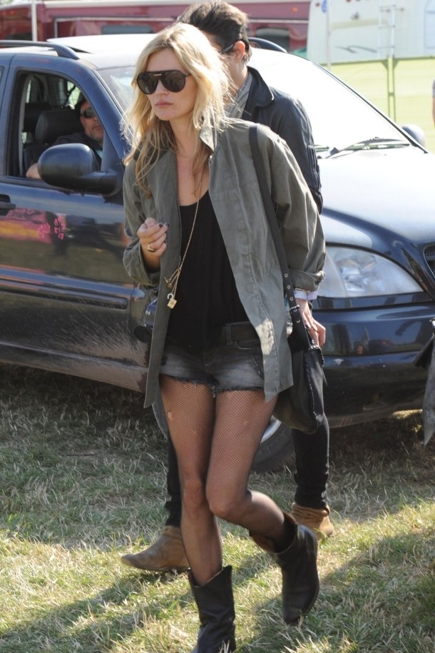 Kate Moss - cutoffs