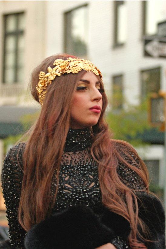 Lady Gaga Headpiece
