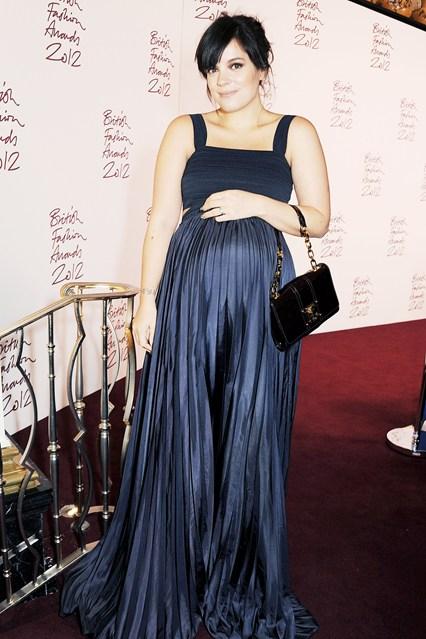 Lilly Allen - British Fashion Awards 2012