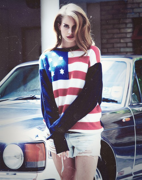 Lana Del Rey - cutoffs