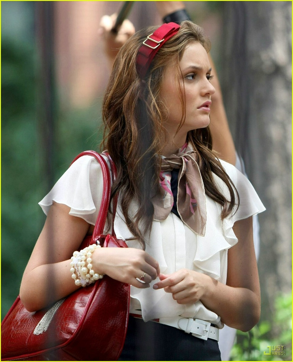 leighton meester headband Headpieces Trend Alert For 2012   2013 Autumn/Winter! Would You Wear Them?