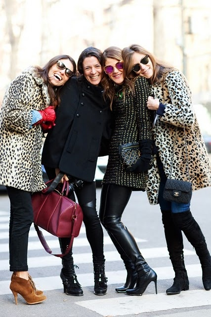 leopard print coat styles Coat Styles For Winter 2013! What To Wear?