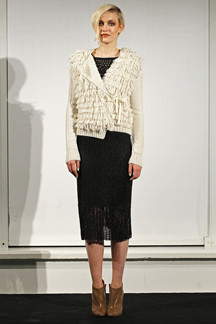 m patmos white cardigan Knitwear Styles For 2013 Winter! Comfort Meets Glam In Sweaters, Jumpers & Cardigans!