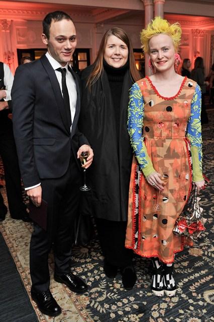 Michael van der Ham - British Fashion Awards 2012