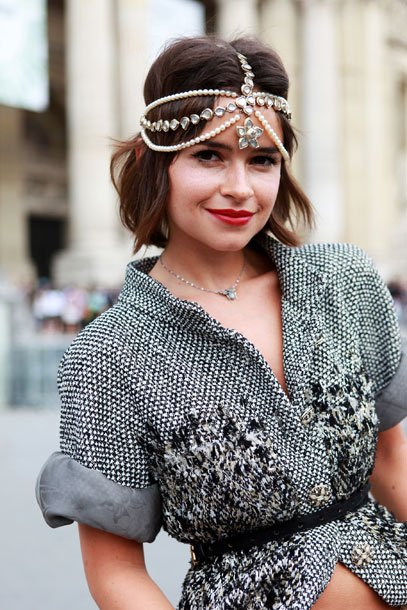 Miroslava Duma Headpiece