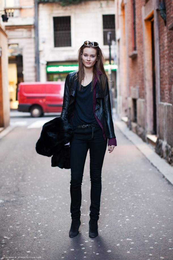 Models Fashion & Style - All Black