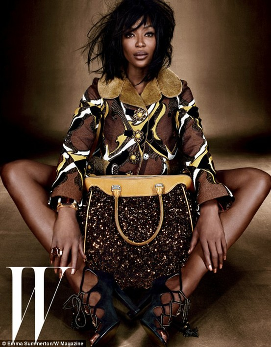naomi campbell coat Coat Styles For Winter 2013! What To Wear?