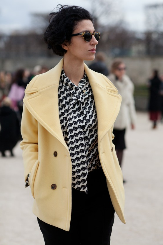 nude coat Coat Styles For Winter 2013! What To Wear?