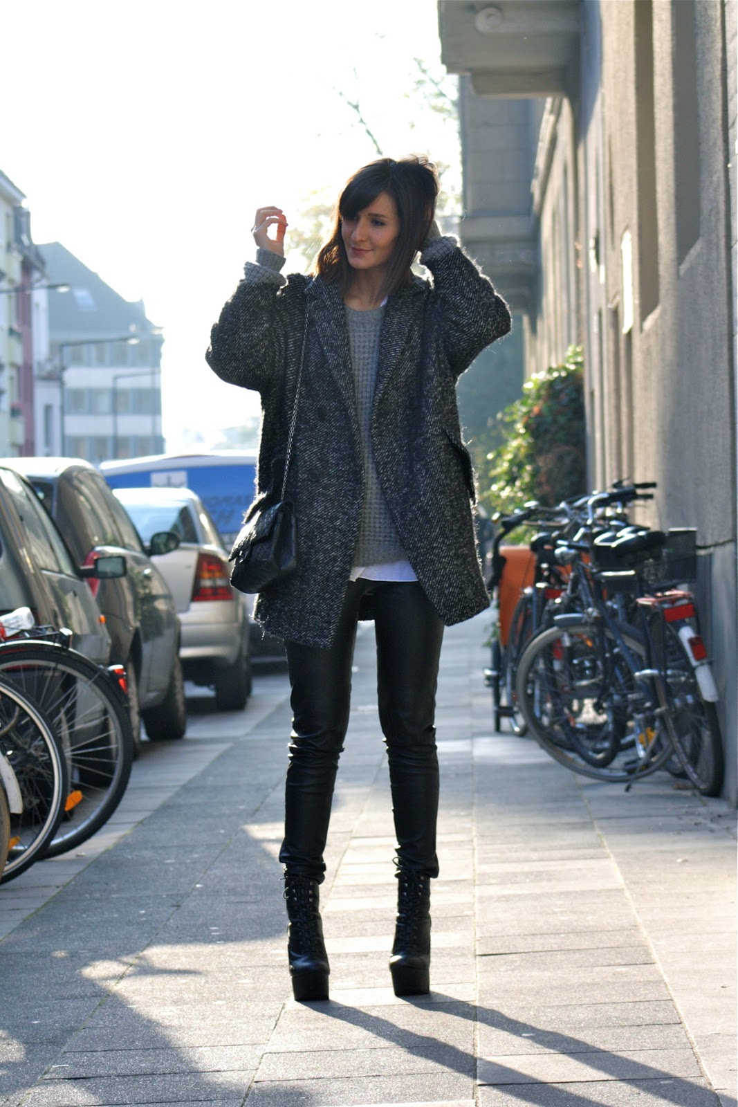 overize coat Coat Styles For Winter 2013! What To Wear?