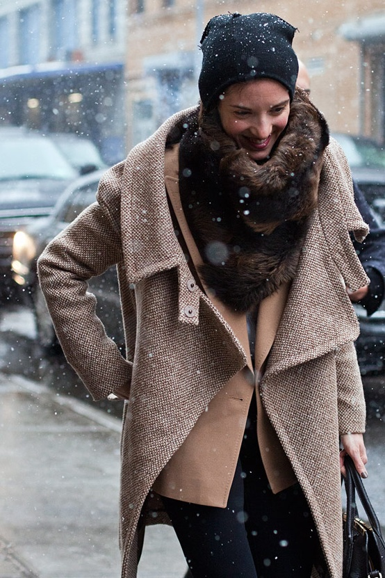 oversize coat Coat Styles For Winter 2013! What To Wear?