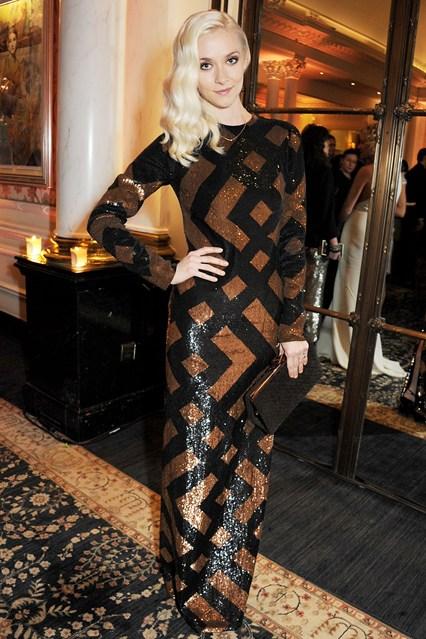 Portia Freeman  - British Fashion Awards 2012
