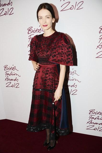 Roksanda Ilincic  - British Fashion Awards 2012