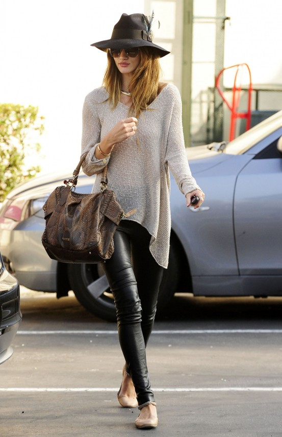 Rosie Huntington Whitely Sweater