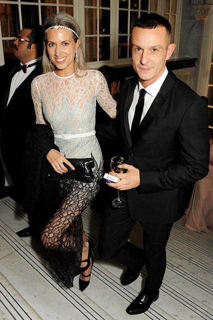 Jonathan Saunders  - British Fashion Awards 2012