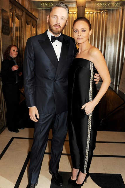 Stella McCartney & hubby at British Fashion Awards 2012