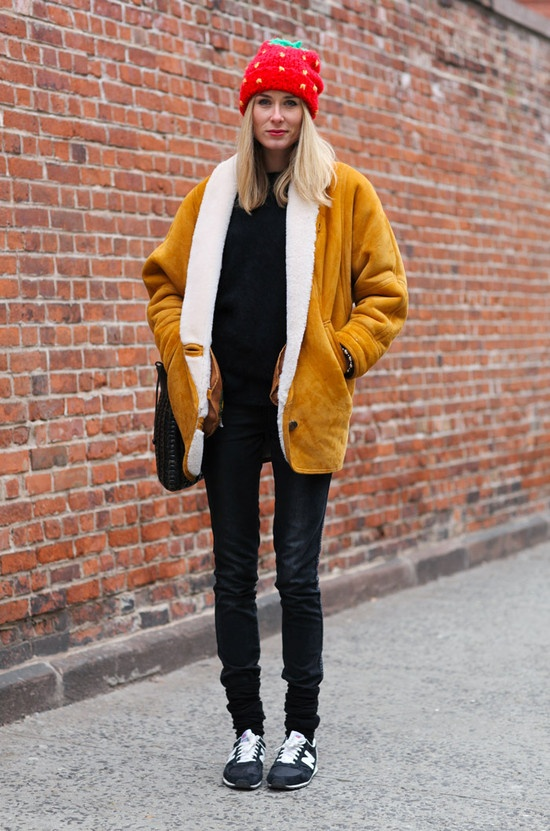 How To Wear Style Your Sneakers In 2013 Winter The Fashion Tag Blog