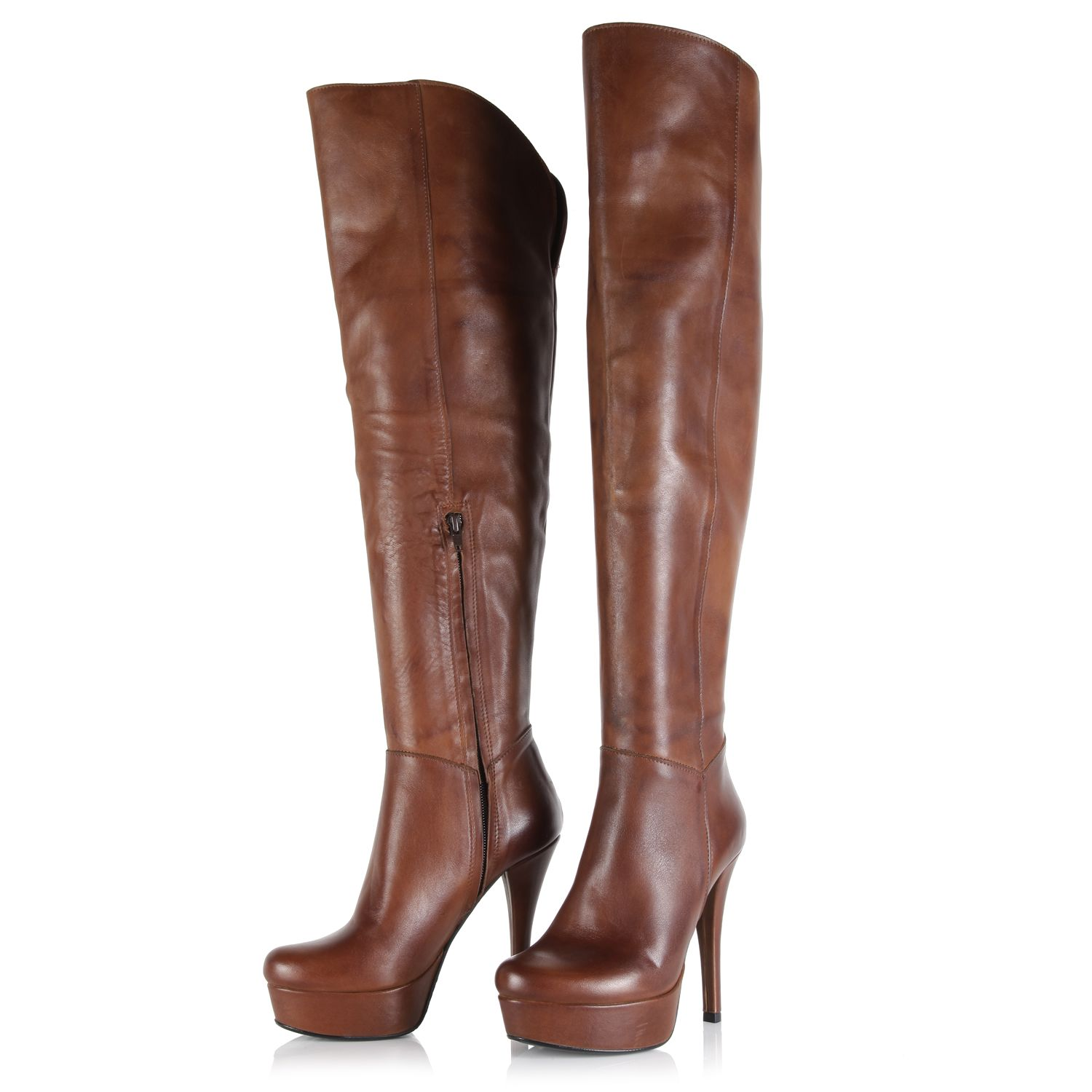 stranded heeled boot 199 951 Moda In Pelles Tips For 2012   2013 Autumn/Winter! How To Wear Boots In Style This Season!