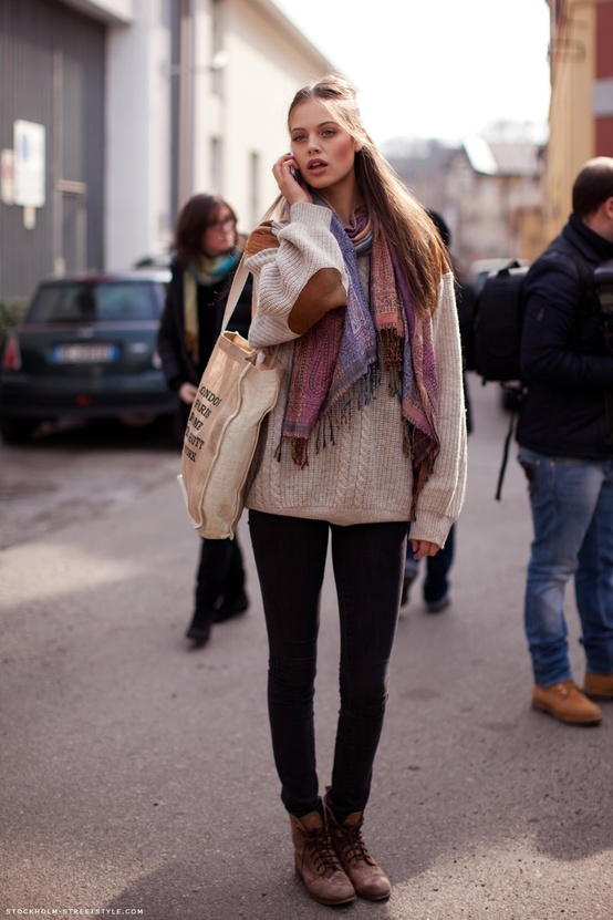 How To Wear Ankle Boots? Looks, Tips & Street Style Close-Up ...
