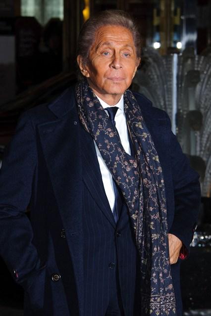 Valentino  - British Fashion Awards 2012