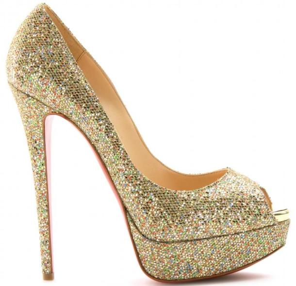 Christian Louboutin Lady 150 Peep-Toe Sandals - £550.00