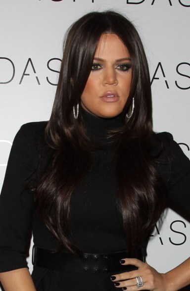 khloe-kardashian-glossy-hairstyle