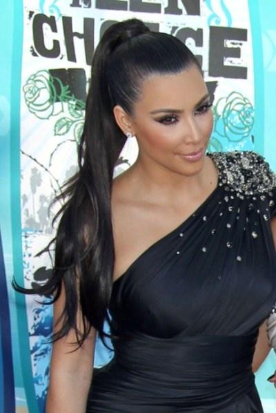 kim-kardashian-ponytail