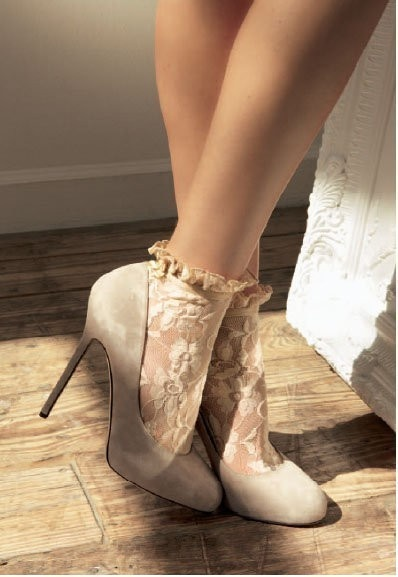 lace-socks-with-heels