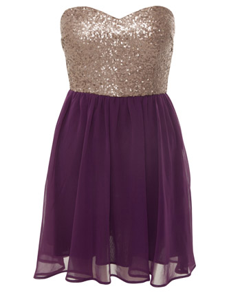 miso sequined strapless dress from Republic - £45.00