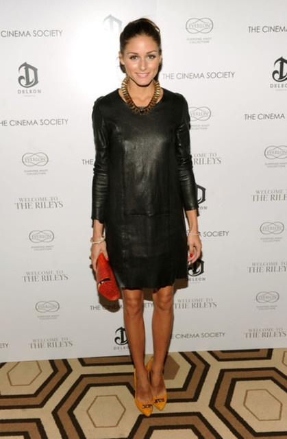 olivia-palermo-leather-dress