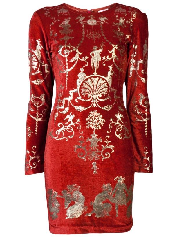Vivienne Westwood Velvet 'sienna' dress from Farfetch