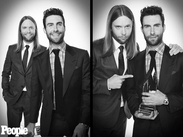 Adam Levine at People's Choice Awards 2013