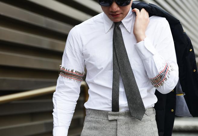 What Do Men Wear In Winter Men S Street Styles From 2013 2014 Fall Winter Fashion Week